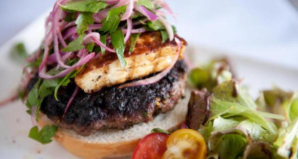 Burger Haloumi Fromages Le Bedouin