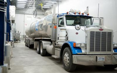 It all starts with the milk tanker,
